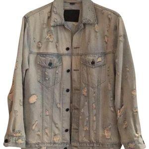 Alexander Wang Distressed Jean Jacket